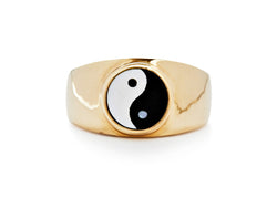yin yang signet ring / limited edition