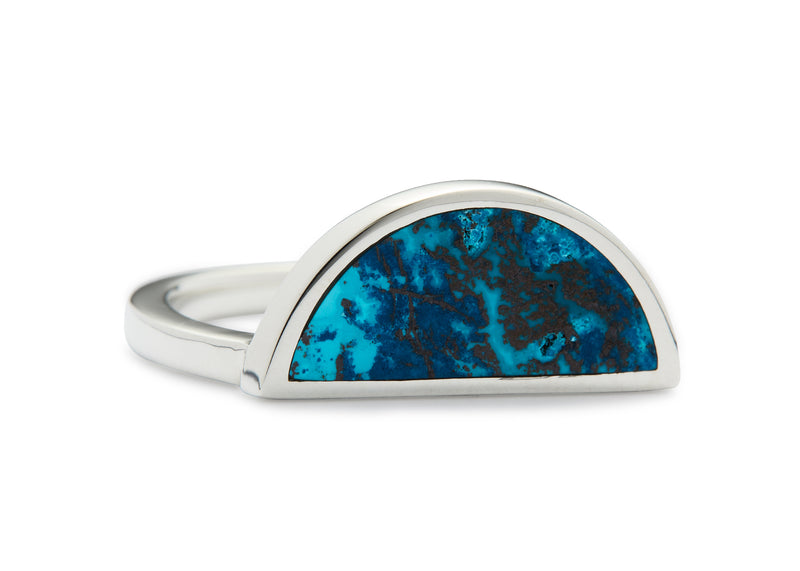 one half ring / shattuckite