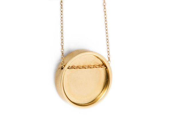 perceptions pendant / gold