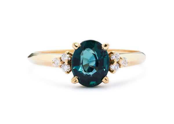 ROONEY RING / SAPPHIRE + DIAMONDS