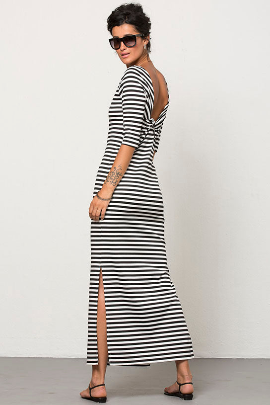 INTERVAL MIDI DRESS BY PINK SHEEP HEIRESS