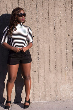 STYLE BLOGGER MALINDA KNOWLES IN REN TOP BY PINK SHEEP HEIRESS