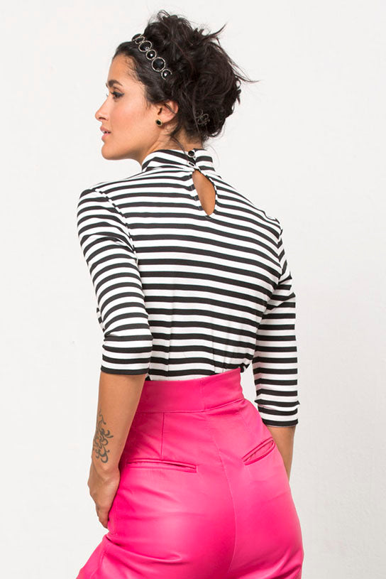 STRIPED KNIT TOP BY PINK SHEEP HEIRESS