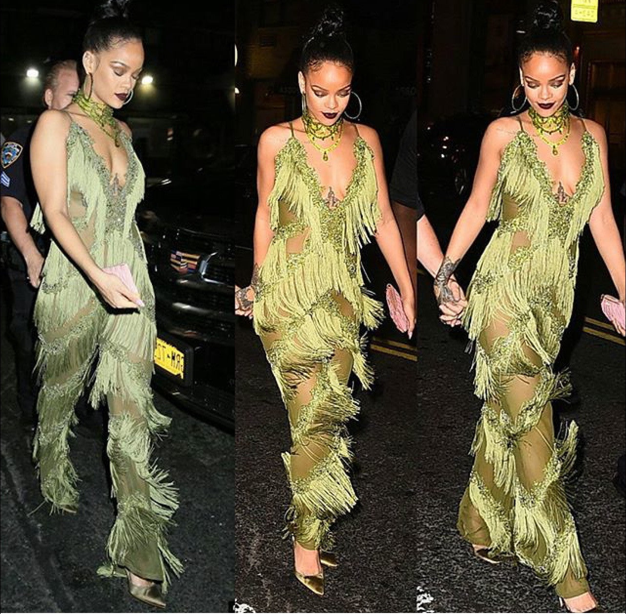 Abdul Sall of Limpasse Kills RIHANNA VMA'S AFTER PARTY OUTFIT