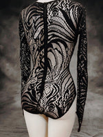 Load image into Gallery viewer, French lace bodysuit