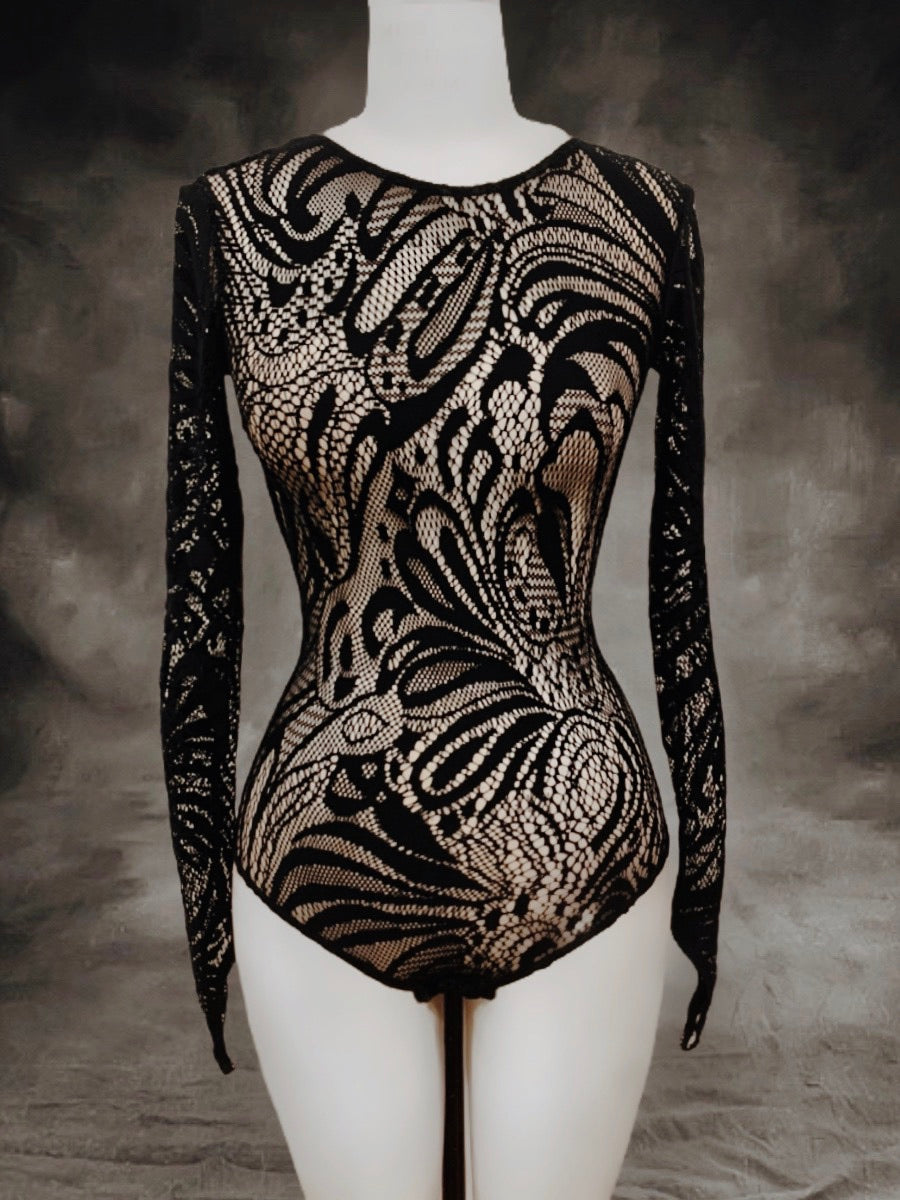 French lace bodysuit