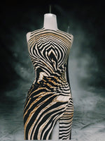 Load image into Gallery viewer, Cavali print dress