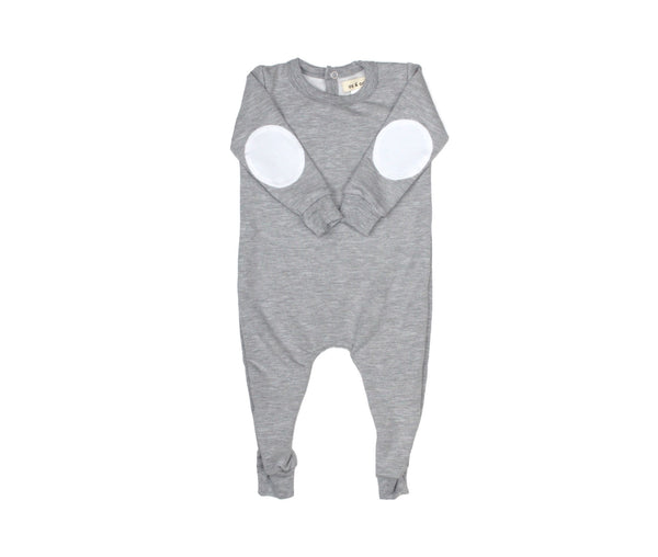 bamboo baby romper - OS & OAKES.