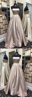 Fashion A-line Long Prom Dress Semi Formal Dresses Wedding Party Dress LP152