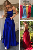 Royal Blue Long Prom Dresses Fashion Winter Formal Dress Popular Wedding Party Dress LP391