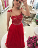 A-line Long Prom Dress  Semi Formal Dresses Wedding Party Dress LP166