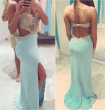 2016 Prom dress,Sweetheart Prom dress ,Beaded prom dress