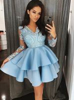 Short Homecoming Dress , Short Prom Dress ,Fashion School Dance Dress,Sweet 16 Dress SW200