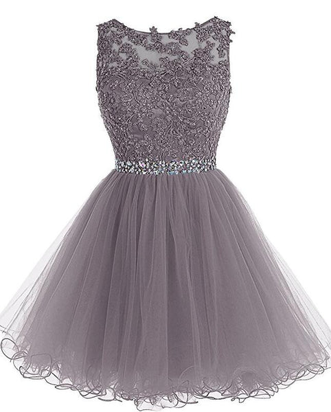 Short Beading Homecoming Dress I1085