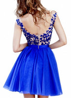 Short Prom dress ,Tulle prom dress