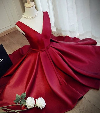 Fashion Satin Short Homecoming Dress,Graduation Dresses,Dance Dress Sweet 16 Dress SW074