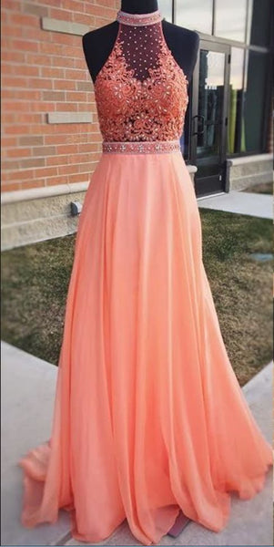 Popular A-line Long Prom Dress,Formal Dresses,Wedding Party Dress LP078