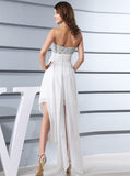 Top Beaded Short  Wedding Dress