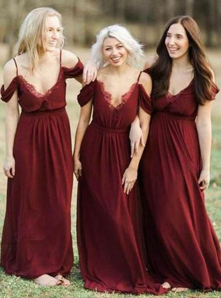 Handmade Simple Bridesmaid Dress,Free Size Bridesmaid Gown,Wedding Party Dress PB102