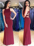 Unique Mermaid Long Prom Dress Fashion Winter Formal Dress Popular Wedding Party Dress  LP327