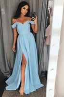 Unique A-line Floor Length Prom Dress Semi Formal Dresses Wedding Party Dress LP183