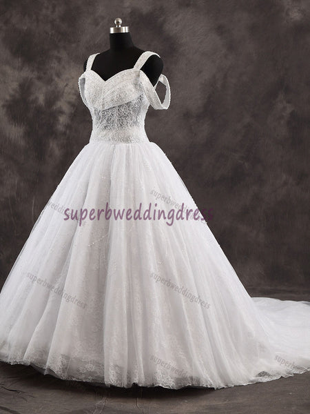 Real Photo Ball Gown Bridal Dress,Custom Made Wedding Dress in High Quality WB025