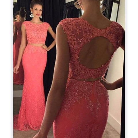 Fashion Applique Beaded Long Prom Dress , Long Winter Formal Dress PP013