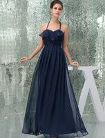 Sweetheart Floor length Chiffon Bridesmaid Dress
