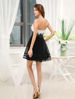 Sweetheart short homecoming dress prom dress I007