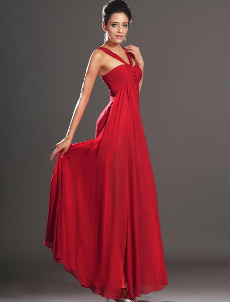 Floor Length prom evening dress I022