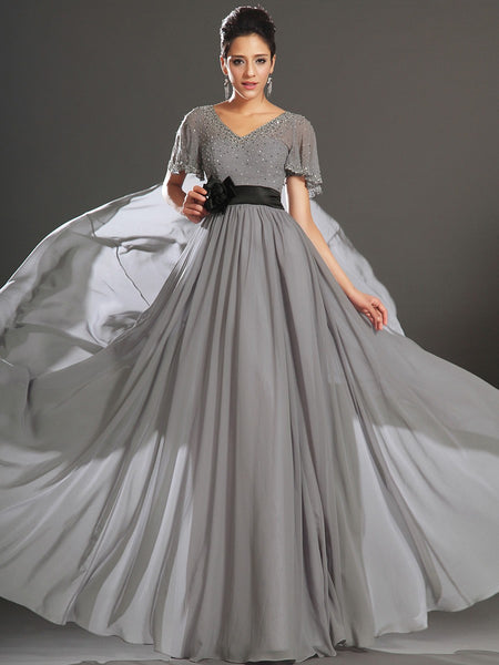 Mother of the groom,mother of the bridal,MOB dress M004