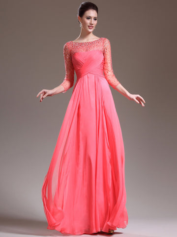 Mother of the groom,mother of the bridal,MOB dress M006