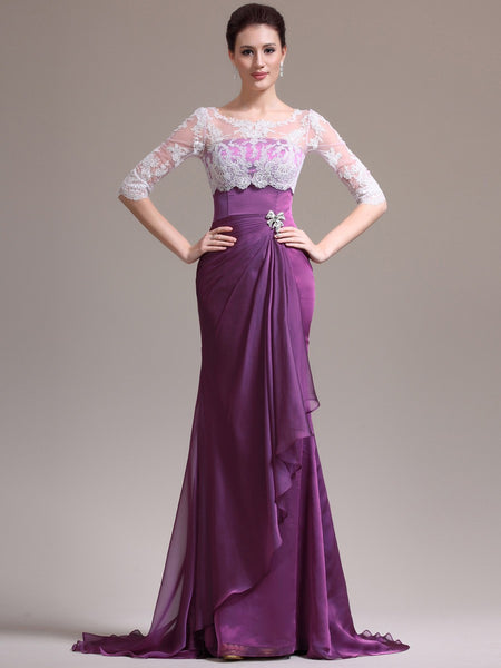 Mother of the groom,mother of the bridal,MOB dress M008