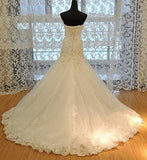 Strapless Sweetheart Wedding Dress