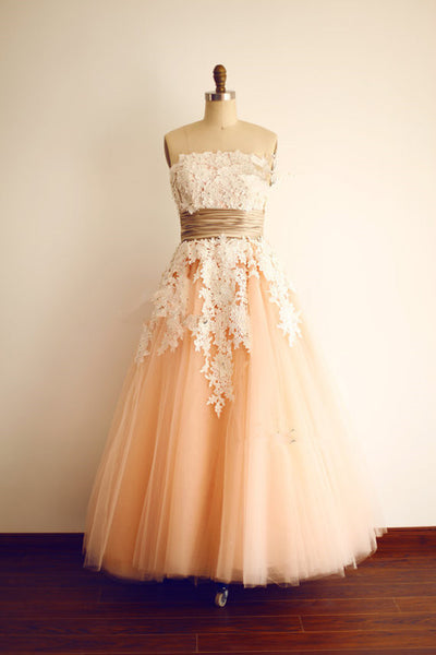 Short Tulle  prom evening dress P054