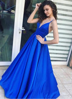 Royal Blue Sexy Floor-Length Prom Dress,Long Formal Dress LP042