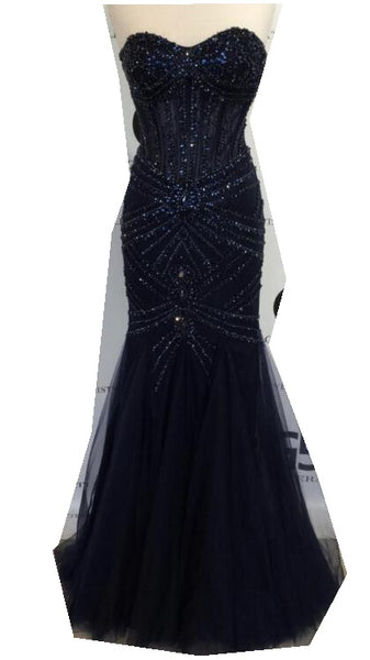 Floor-Length Prom Dress LP088