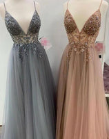 Beaded Long Prom Dresses Fashion Winter Formal Dress Popular Party Dress LP416