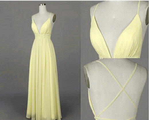 Simple Fashion Prom Dresses Long Formal Dress  SP1124