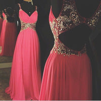 Beading Fashion Prom Dresses Long Formal Dress  SP1129