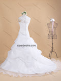 A-line Appliqued Real Photo Wedding Dress Bridal Dresses Vestidos de Novia BDS0362