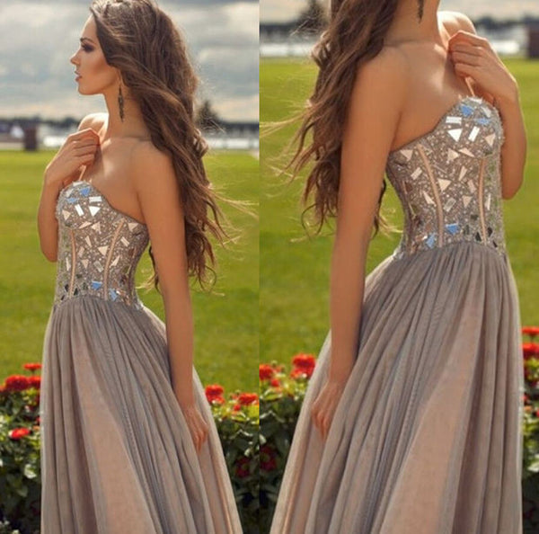 Beaded Long Prom Dress I151