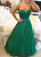 Beaded Long Prom Dress   I155