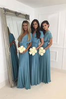 Handmade Simple Bridesmaid Dress,Free Size Bridesmaid Gown,Wedding Party Dress PB101