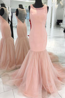 Mermaid Long Prom Dress Semi Formal Dresses Wedding Party Dress LP110