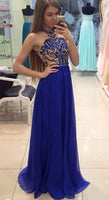 A-line Floor Length Prom Dress ,Formal Dresses,Wedding Party Dress LP091