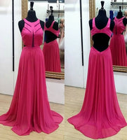 Charming Simple A-line Floor-Length Prom Dress,Long Formal Dress Dance Dress LP058