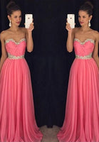 Floor Length  Prom Dress  I1025