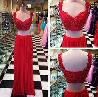 2 piece Floor Length Prom Dress I1084