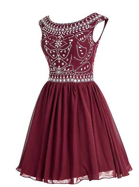 Beading Homecoming Dress I1087